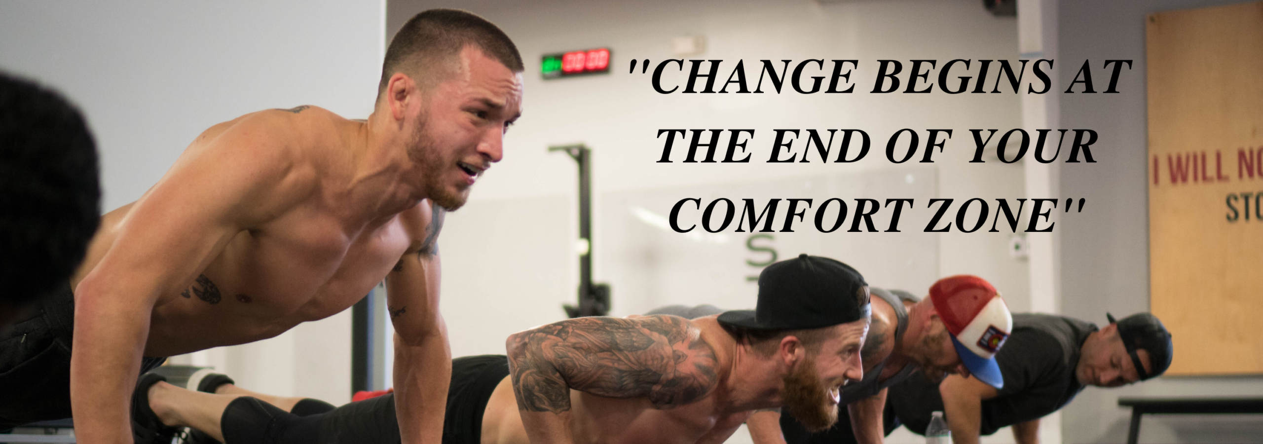 _Change Begins At The End Of Your Comfort Zone_
